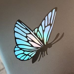 Color Changing Holographic Butterfly Decal